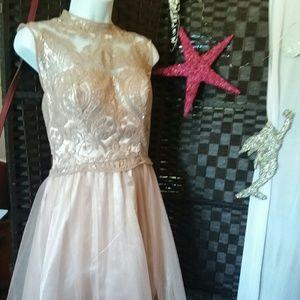 MY MICHELLE Blush Dress Size 11 (Juniors)